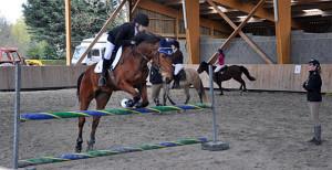 saut cheval