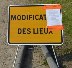 Modification des lieux